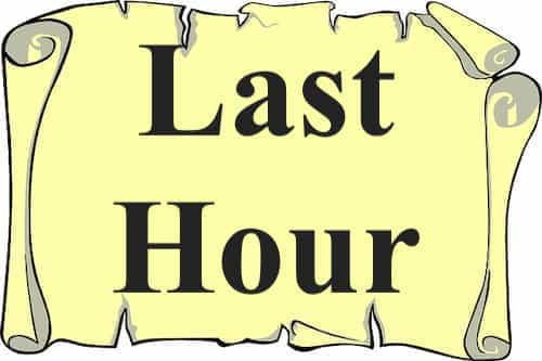 Last Hour mentioned in Bible | The Last Dialogue