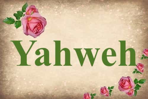 Yahweh mentioned in Bible | The Last Dialogue