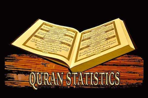 Quran Statistics and Facts | The Last Dialogue