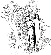 Adam Eve And Tree