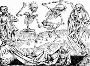 Picture portraying Black Death