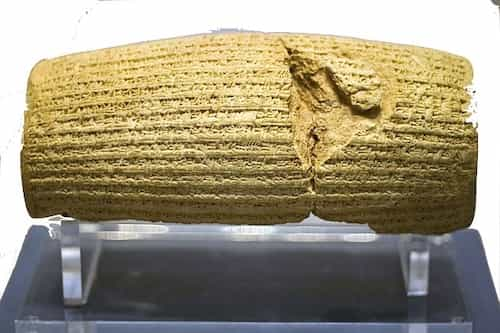 Cyrus Charter clay cylinder