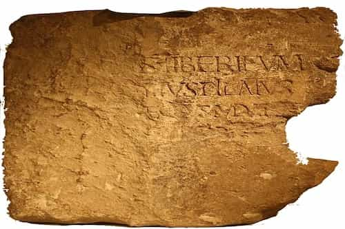 The Pilate Inscription stone