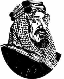 Picture of Saudi King