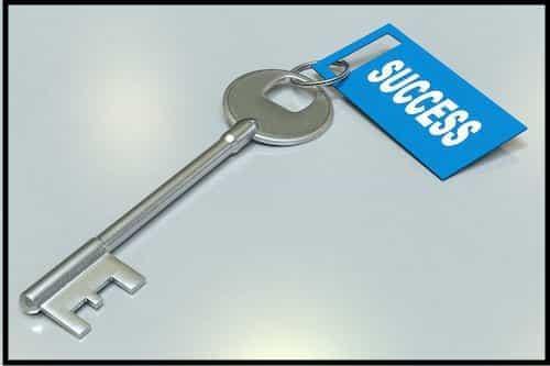 Secret To Success Key