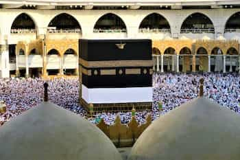 Image of Kaaba In Mecca